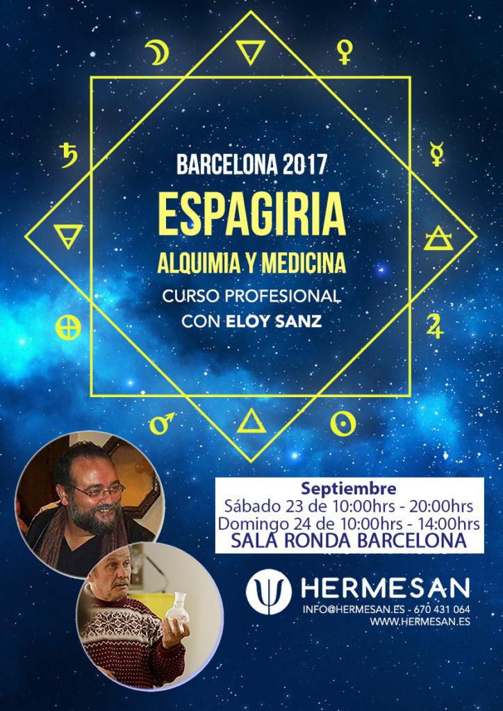 Curso Profesional de Espagiria @ RONDA BARCELONA