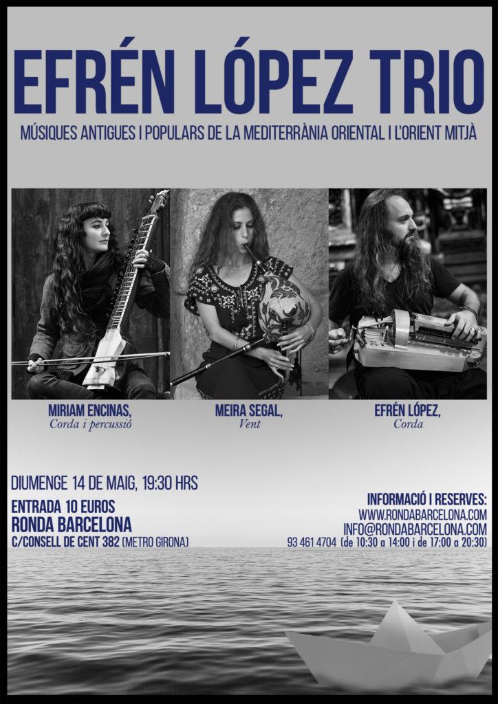 Concert per Efrén López Trio