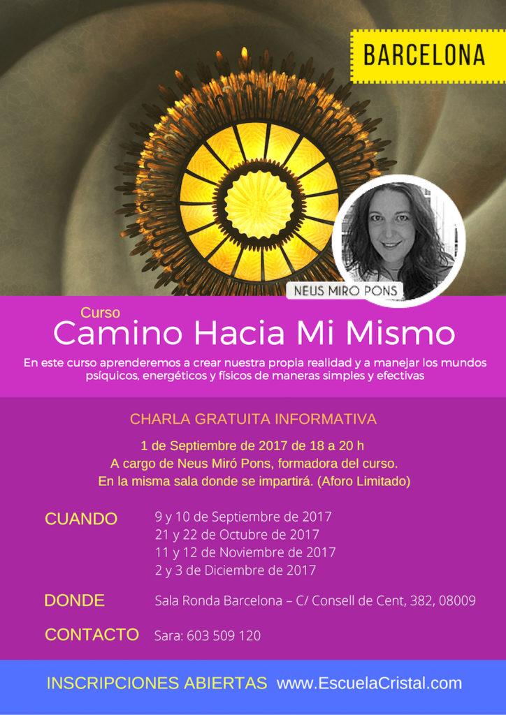 Charla informativa: CAMINO HACIA MI MISMO @ Sala Ronda Barcelona