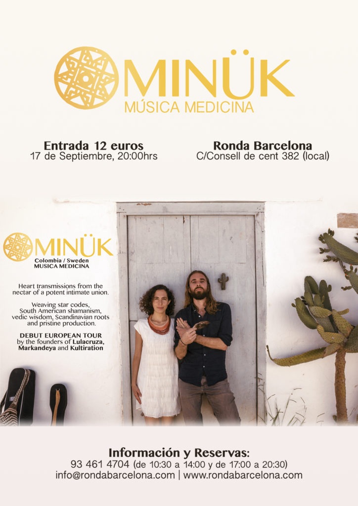 MINÜK, Música Medicina @ Ronda Barcelona