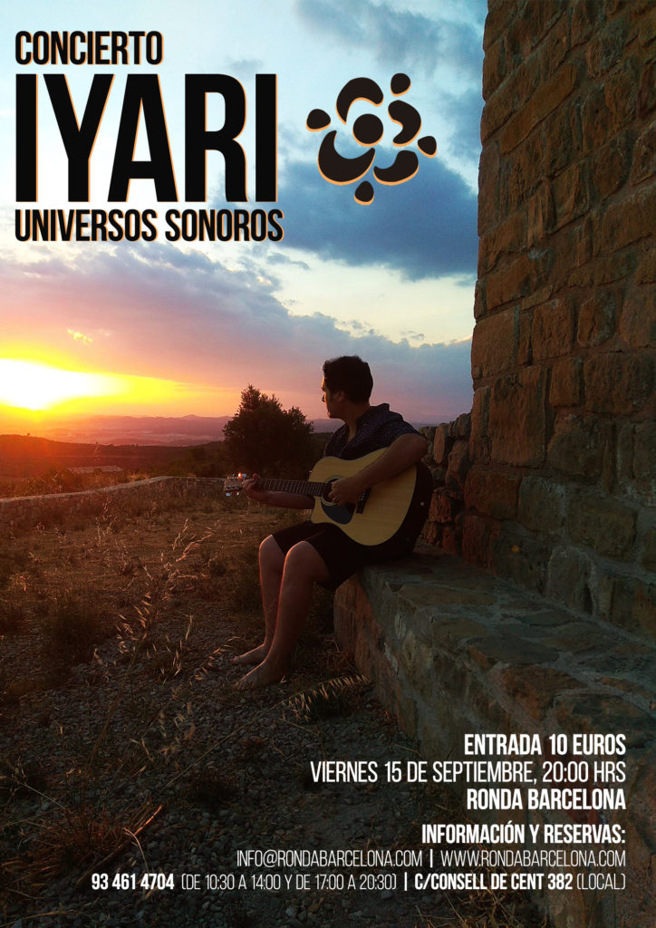 Concierto IYARI, universos sonoros @ Ronda Barcelona