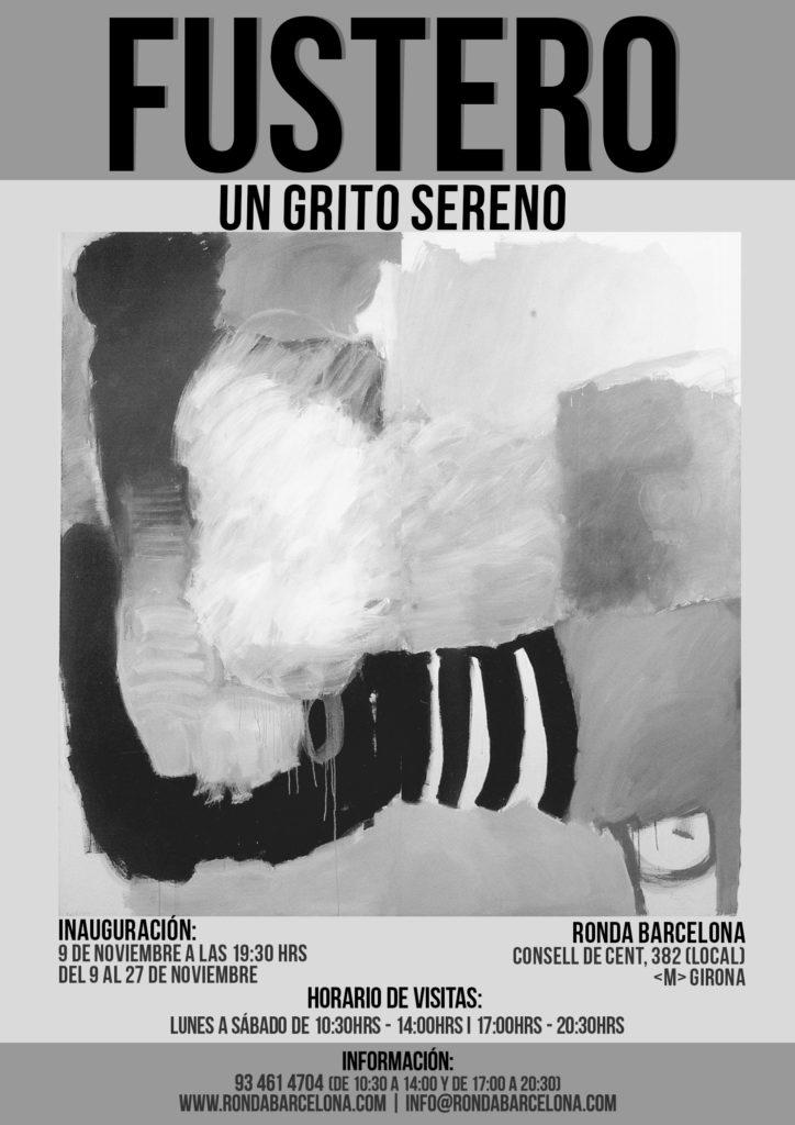 """Exposició """"UN CRIT SERÈ"""" - """"UN GRITO SERENO"""" de Elvira Fustero @ Sala Ronda Barcelona"""