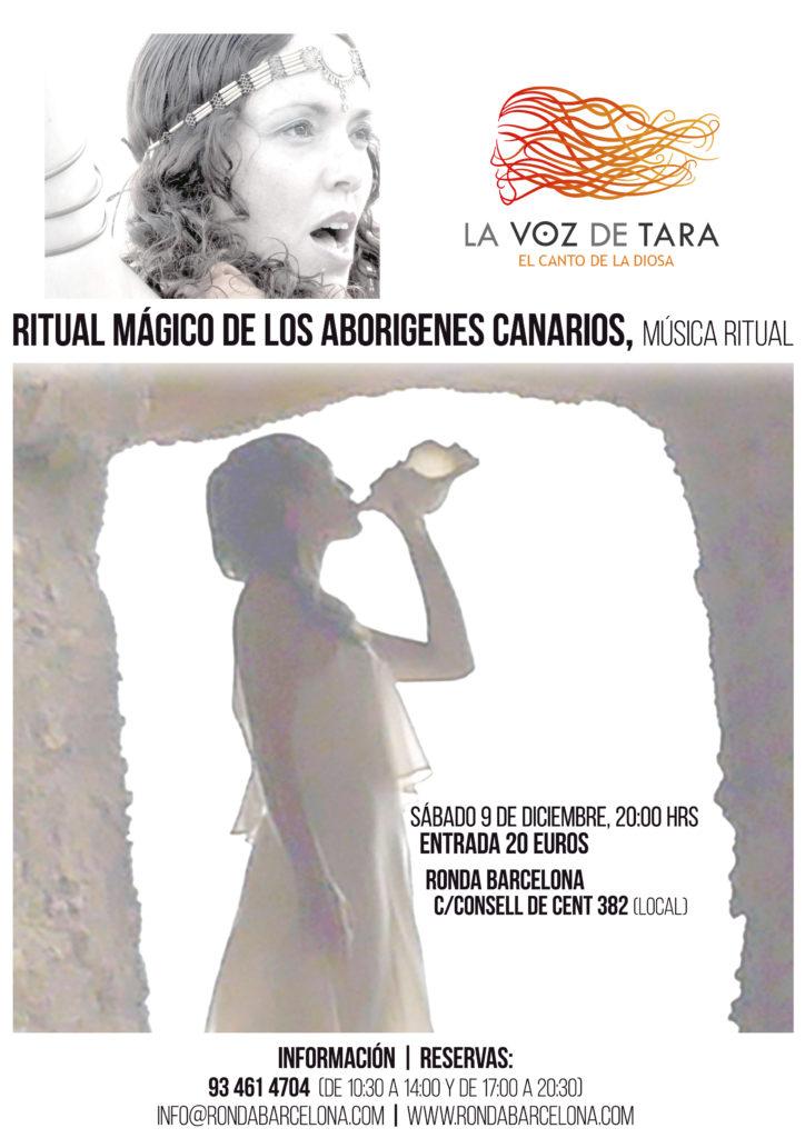 Concierto: RITUAL MÁGICO-RELIGIOSO DE LOS ABORIGENES CANARIOS @ RONDA BARCELONA