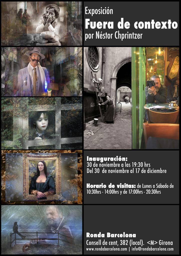 """Exposición: """"FUERA DE CONTEXTO"""" @ Ronda Barcelona"""